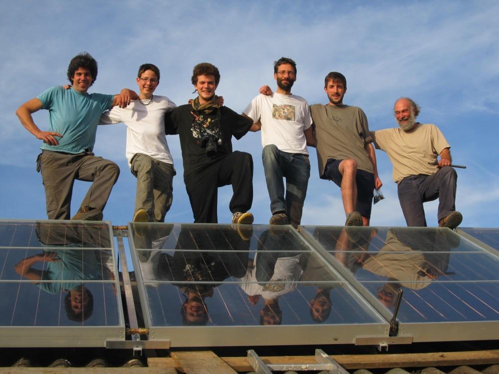 Installation des panneaux photovoltaïques